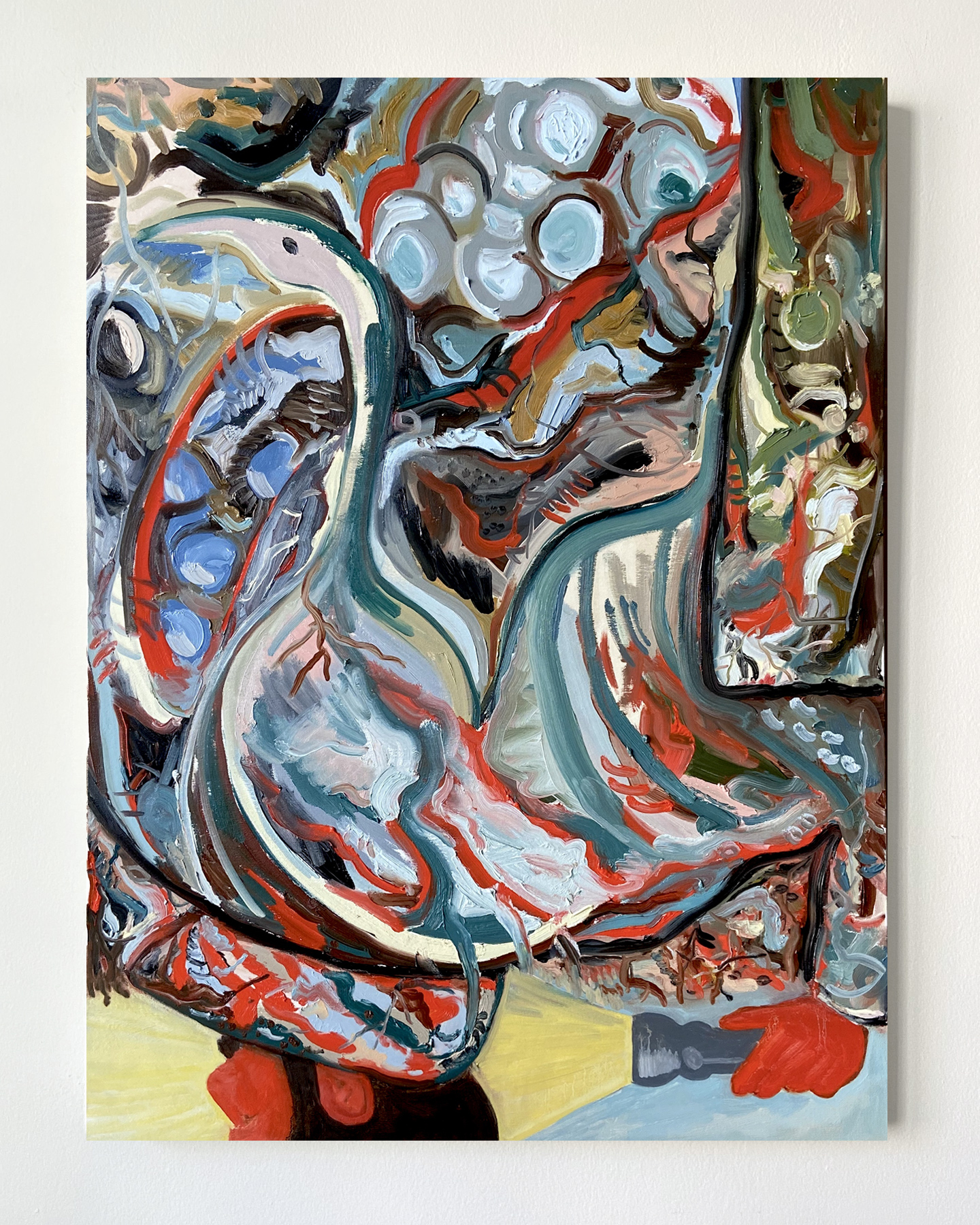 Mike Mellia Artist Painting