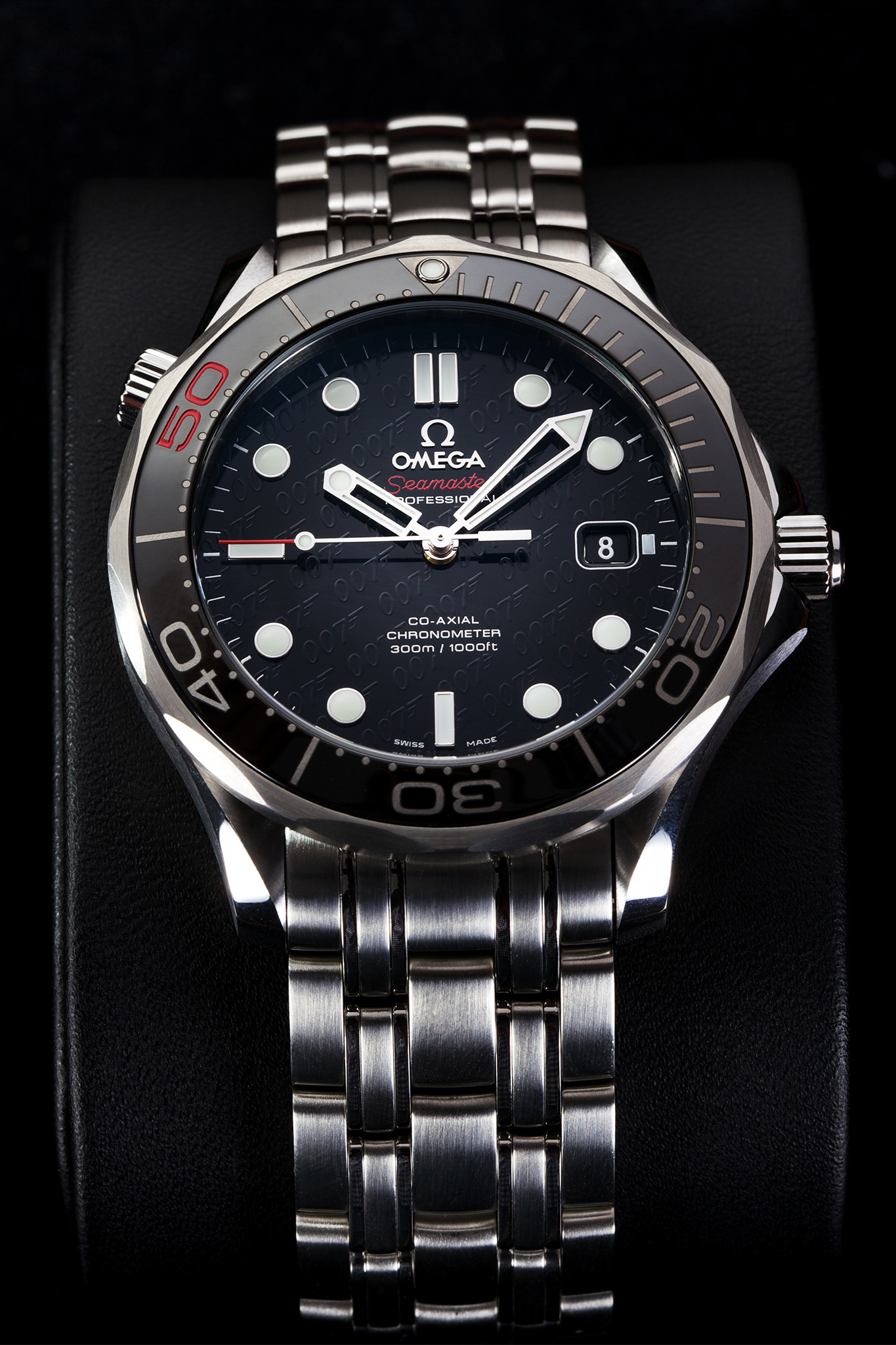 Omega James Bond 007 50th Anniversary Collector's Piece iW Magazine Mike Mellia