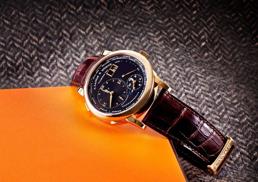 a. lange & sohne time zone watch